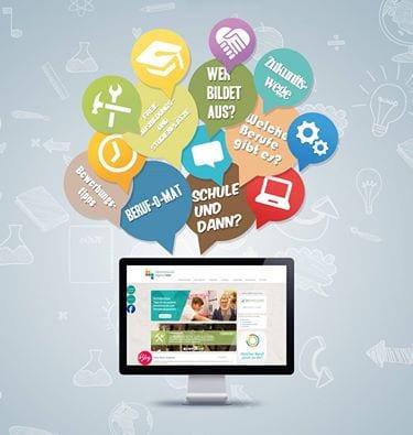 Meine Zukunft beginnt hier – Webseite – Drupal